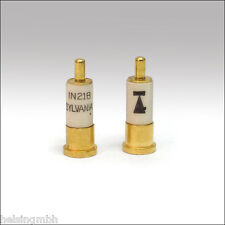 Mischer Diode 1N21B, 10 Stück, UHF/Mikrowellen Mischdiode, Microwave Mixer Diode