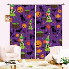 Yellow Pumpkin Touch 3D Curtain Blockout Photo Printing Curtains Drape Fabric