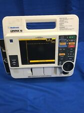 Medtronic Physio Control LP12 AED Monitor Machine ECG Battery Included