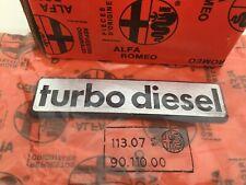 Anagram Diesel Turbo Alfa Romeo