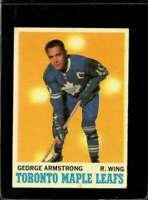 1970-71 TOPPS #113 GEORGE ARMSTRONG VG+ MAPLE LEAFS  *X2075