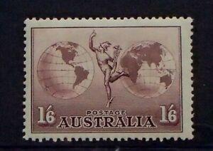 SG153a - 1937 Australia 1/6- Dull Purple Hermes Stamp - Mint - 9