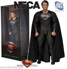 NECA DC Comics - MAN OF STEEL - Black (Noir) Suit Superman 1/4 SCALE FIGURINE /