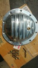 SUM-730507 Polished Aluminum Differential Cover with Fasteners, New Other
