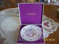 Royal Doulton 1977 Vintage Bone China Valentine Plate & Original Box
