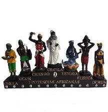 "13.5"" Seven African Powers Siete Potencias Africanas Oshun Yemaya Chango Ogun"
