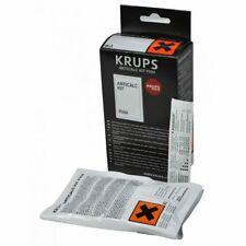 Krups 2 Packets Descaler + Test Water Hardness Coffee Machine ANTICALC F054