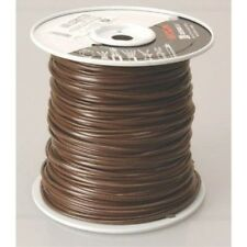 COLEMAN CABLE INC 55304-04-07 18/4 Vinyl Thermostat Wire, 250-Feet, Brown