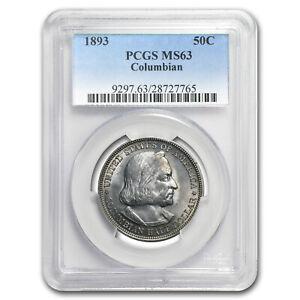 1893 Columbian Expo Half Dollar MS-63 PCGS - SKU #44029