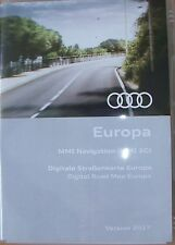 AUDI DVD EUROPA OST MMI 2G High 2017 Deutschland, Kroatien Italien Skandinavien