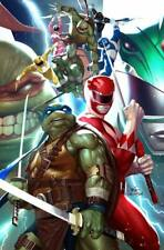 POWER RANGERS TMNT #1 INHYUK LEE EXCLUSIVE VIRGIN VARIANT NM 12/04/19