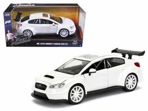 1:24 Mr. Little Nobody's Subaru WRX STI White -- Fast & Furious JADA