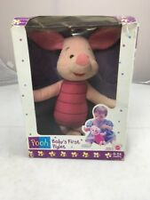 Mattel Pooh Baby's First Piglet New In Box Great Christmas Gift Vintage