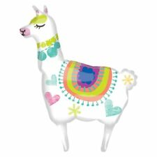 Llama Large Supershape Foil Balloon Mexican Fiesta Party Decoration 41 Inches