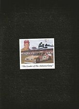 NASCAR SIGNED PHOTO BOBBY ALLISON 3 x 4 SIGNED PHOTO
