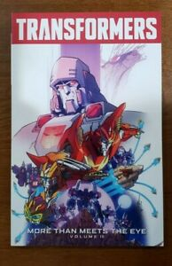 TRANSFORMERS More Than Meets The Eye Vol 10 TPB OOP NEW 2016 IDW James Roberts