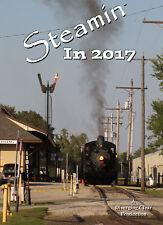 Railroad DVD: Steamin' In 2017 - N&W 611, Southern 401, 630 & 4501, Strasburg 89