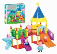 Peppa Pig Playground Children's Slide Play Set With Figures Kid Toy Boy Girls