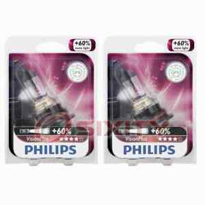 2 pc Philips High Low Beam Headlight Bulbs for Jeep Liberty 2002-2007 hh