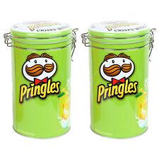 2x Pringles escuela y viajes solo sirven contenedor de almuerzo fichas titular Snack Olla