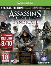 Assassins Creed Syndicate Special Edition XBOX ONE Comme neuf livraison Super Rapide Gratuit