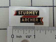"Raleigh ""Sturmey Archer"" seatpost decal"