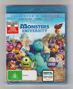 Monsters University Collector's Edition Blu-ray 2-Disc Set - Brand New & Sealed