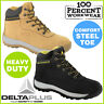 Heavy Duty Mechanics Tradesman Apprentice Mens Work Safety Boots Steel Toe Cap