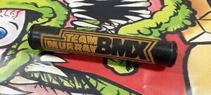 Vintage Yellow and Black Team Murray BMX Bike 3 Pad