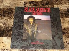 Black Sabbath Tony Iommi & Glenn Hughes RARE Signed Seventh Star Vinyl LP Record