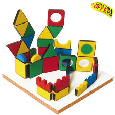 Sensory Educational Magnetic Blocks Builder Autism Special Need Toy Construction