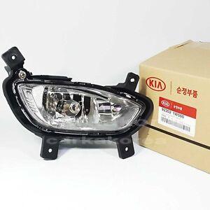 Genuine 922021W000 Fog Lamp+Connector Front Right RH For KIA RIO Sedan 2012-2015
