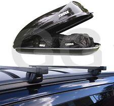 Roof Rack Rail Bars & 320L Car Roof Box | Audi Q5 Q7 Top Box Luggage Carrier