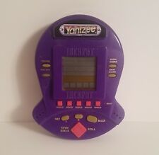 Yahtzee Jackpot Electronic Handheld Casino Style Game Tested & Works Free Ship