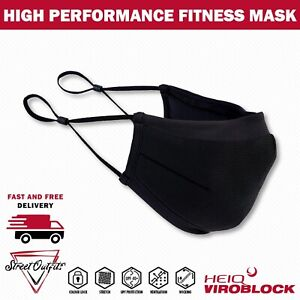 Fitness Face Mask Gym Washable Breathable Cover Reusable Workout Sports Jogging