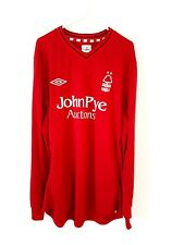 Nottingham Forest Home Shirt 2012. XL. Umbro. Red Adults Long Sleeves Top Only.