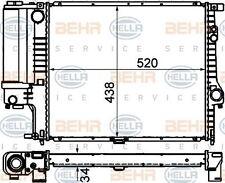 8MK 376 888-134 HELLA Radiatore Raffreddamento Motore