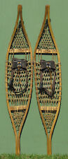 "Vintage Hand Made Torpedo SNOWSHOES ""10 X 54"" RARE!"
