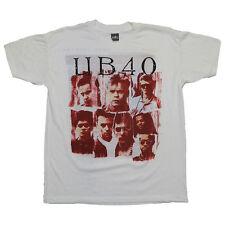 UB40 Shirt vintage Tshirt 1988 World Tour 1980s Concert Tee Rare Red Wine