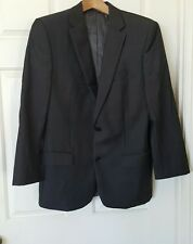 STUDIO ITALIA Charcoal Grey Suit Sports Jacket Australian Wool Size 92 Blazer