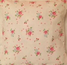 Vintage Ditsy Floral Roses Handmade Cushion Cover matches Next bedding 16x16""