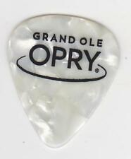 GRAND OLE OPRY GOLD WHITE GUITAR PICK COUNTRY MUSIC CITY Tennessee Hall Fame USA