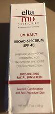 EltaMD UV Daily Broad-Spectrum SPF 40, 1.7 oz.- NEW Exp:09/22 Damaged Box