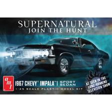 AMT 1124 1:25 Chevy Impala 4-Door Supernatural Night Hunter Model Kit
