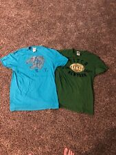 Lot Of 2 Abercrombie & Fitch Mens Muscle Shirts Medium M 100% Cotton