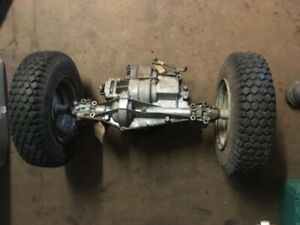 TROY BUILT TRACTOR 13104 15.5 HP LTX GEARBOX AXLE & TYRES WHEELS 4.80 / 400-8