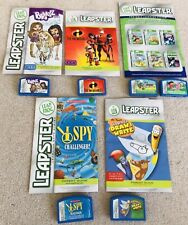 6 Leap Frog Leapster Learning System Cartridge Games