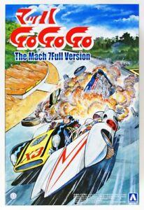 Aoshima 54208 Mach GoGoGo The Mach 7 Full Version 1/24 Scale Kit 4905083054208