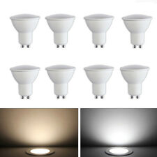 4x 8x Dimmable GU10 Cree LED Ampoules Spotlight Lamp Bulb 5W 6W Warm White Blanc