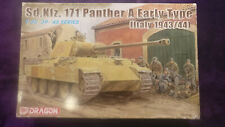 Dragon6160 1:35 Panther A Early Type [Italy1943/44] Model Kit *SEALED IN BAGS*